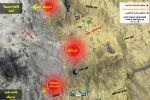 انفوجرافيك يوضح سير المعارك على تخوم العاصمة صنعاء والانتصارات التى حققها الجيش