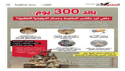 مكاسب المقاومة الشعبية بعد 300 يوم من الحرب