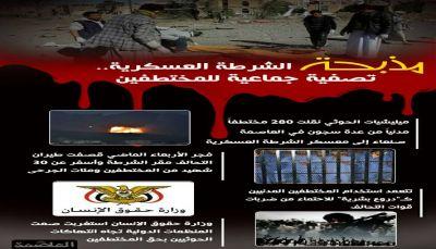 مذبحة الشرطة العسكرية.. تصفية جماعية للمختطفين