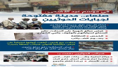 في العيد.. جبايات حوثية مضاعفة وسط احتجاجات