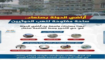 أراضي الدولة.. ساحة مفتوحة لنهب الحوثيين