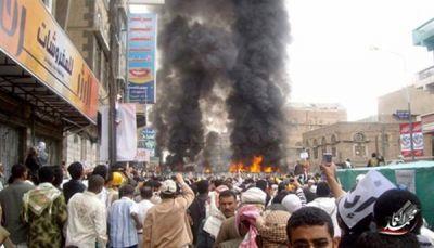 في ذكرى الكرامة.. مشاهد الدخان والدم عالقة بأذهان اليمنيين لأبشع مجزرة عرفوها