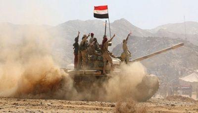 البيضاء: مصرع 16 من مليشيا الحوثي والتحالف يدمر عربة تابعه لهم في الملاجم