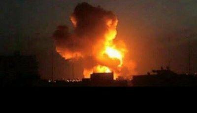 مصرع عدد من القيادات الحوثية في غارة للتحالف على شركة النفط بصنعاء
