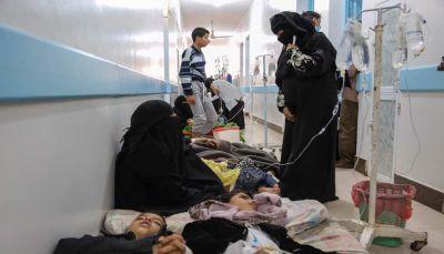 """تسجيل 277 حالة اشتباه جديدة بـ""""الكوليرا"""" في صنعاء ووفاة حالة واحدة"""