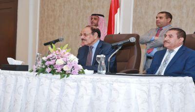 نائب الرئيس يدعو قيادات وقواعد المؤتمر للاصطفاف خلف القيادة الشرعية للتخلص من مشروع الحوثي