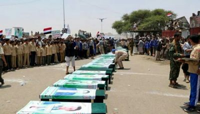 عشرات الجثث لقتلى الحوثيين تصل صنعاء