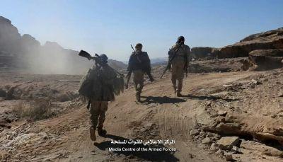 صعدة: قوات الجيش تقترب من تحرير المجمع الحكومي في باقم