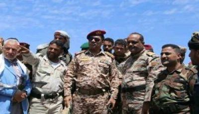 اللواء الصبري يؤكد استمرار العملية العسكرية حتى استكمال تحرير تعز