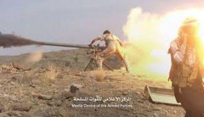 مصرع 10 من القيادات الميدانية لمليشيات الحوثي بجبهة نهم شرقي صنعاء