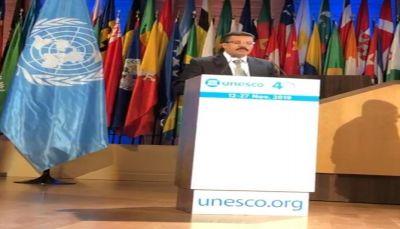السفير جميح يحذر من نهب الآثار وتجريف التعليم في اليمن