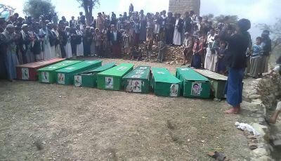 تشييع 14 موكباً لقتلى مليشيات الحوثي في 4 محافظات والحصاد مستمر