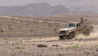 """تحرير مناطق مهمة بهجوم نوعي للجيش في """"نهم"""" باتجاه مفرق الجوف"""