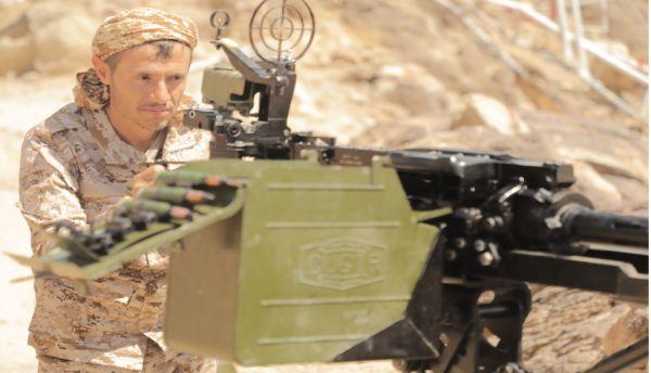 الجيش يواصل عملياته العسكرية لتأمين المواقع المحررة في الجوف