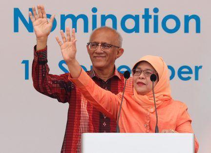مسلمة متزوجة من يمني.. انتخاب حليمة يعقوب رسمياً أول رئيسة لسنغافورة
