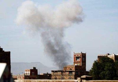 مقاتلات التحالف العربي تشن غارتين على معسكر الحفا بصنعاء