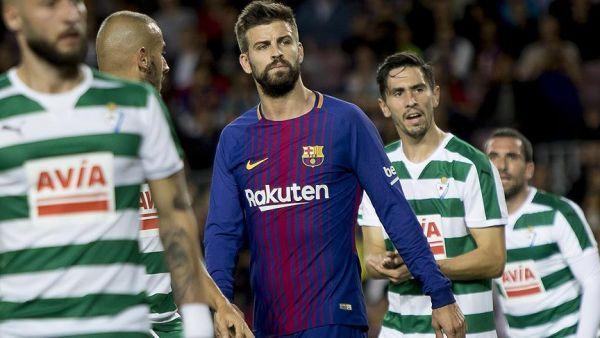 بيكيه قائد فريق برشلونة: أنا كتالوني وأفتخر