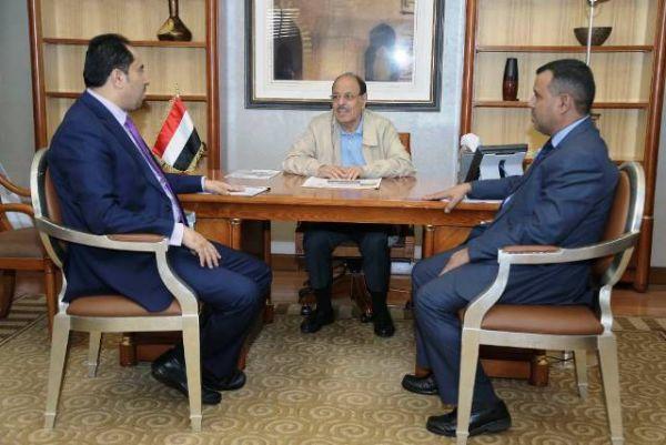 نائب رئيس الجمهورية يشيد بأداء اللاعبين والرياضيين اليمنيين