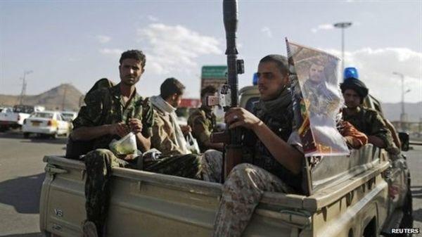 مليشيا الحوثي تختطف مواطنين بينهم أطفال بمديرية نهم