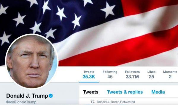 """توقف حساب تويتر لـ """"دونالد ترامب""""11دقيقة يسبب ضجة إعلامية"""
