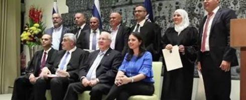 أول قاضية شرعية مسلمة في إسرائيل تؤدي اليمين