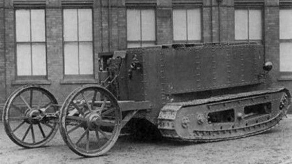 أنواع الدبابات في الحرب العالمية الأولى (صور)