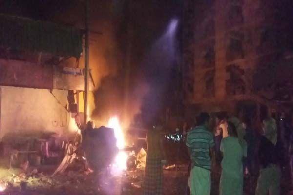 قتلى وجرحى في تفجير انتحاري استهدف مقر قوات الحزام الأمني بعدن
