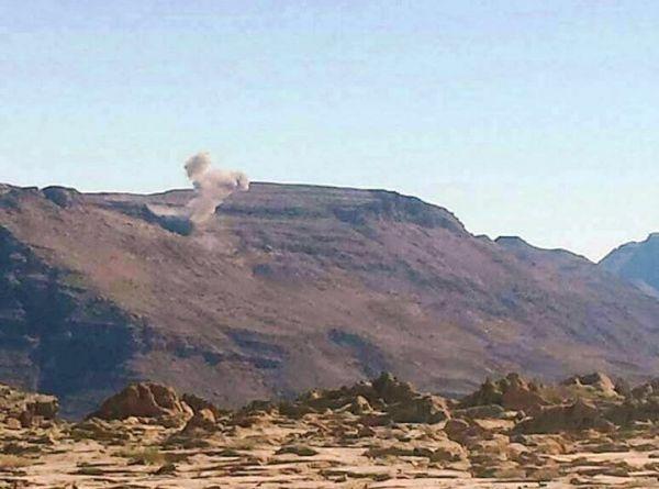 مقاتلات التحالف تدمّر آليات عسكرية وتعزيزات للحوثيين شرقي صنعاء
