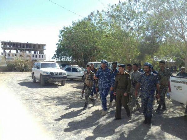 تدشين العام التدريبي لشرطة دوريات وأمن طرق محافظة مأرب