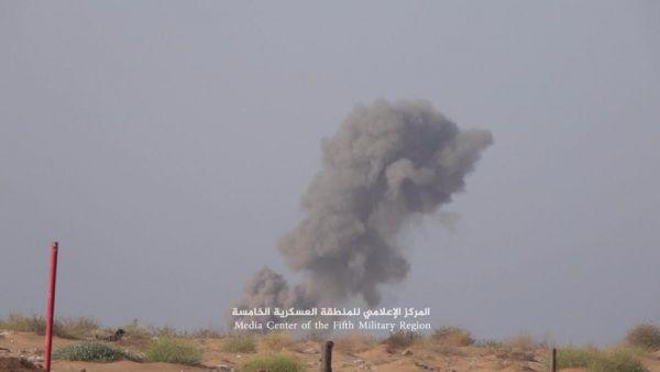 حجة: عشرات القتلى والجرحى من الحوثيين في غارات لطيران التحالف