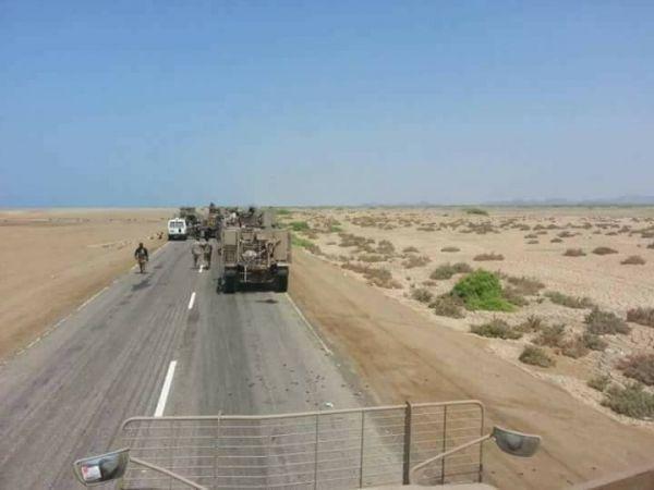 """قوات الجيش الوطني تتقدم في """"الجراحي"""" ثالث مديريات الحديدة"""