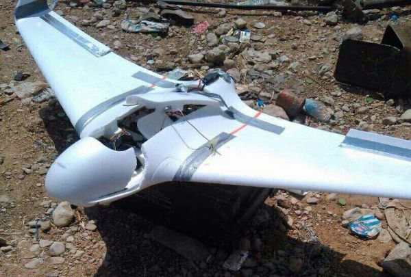 الجيش يعلن اسقاط طائرة استطلاع مسيّرة تابعة للحوثيين في نهم شرق صنعاء