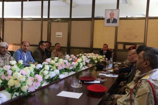 تعز: اللجنة الأمنية تقر حزمة من الإجراءات لبسط نفوذ الدولة بالمحافظة