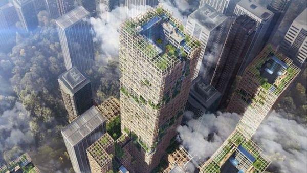 اليابان تخطط لبناء أطول ناطحة سحاب خشبية في العالم