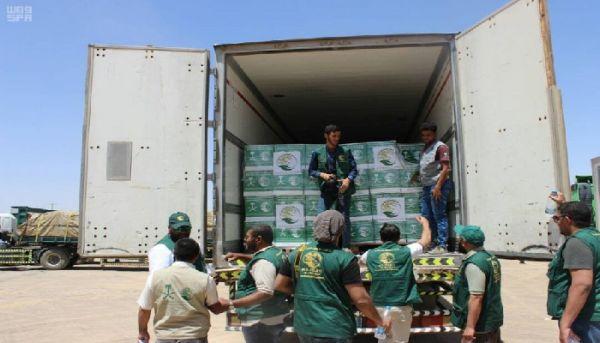 """وصول 18919 سلة غذائية من مركز الملك """"سلمان للإغاثة"""" إلى اليمن"""