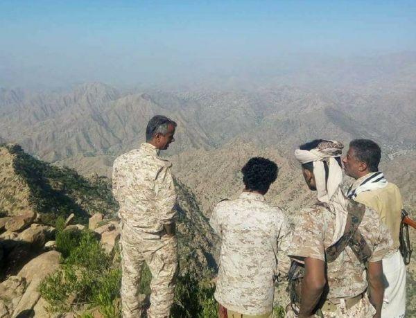 الجيش ينفذ عملية عسكرية لاستكمال تحرير القبيطة والانطلاق نحو تعز