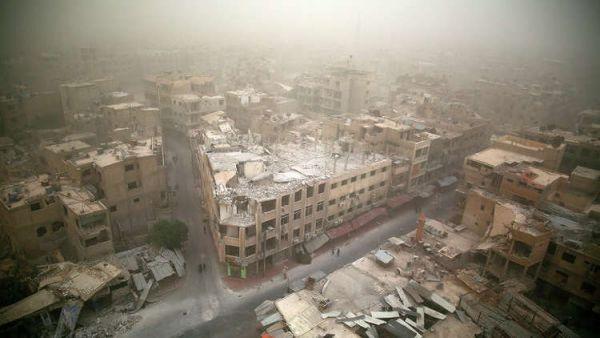 ردود أفعال دولية تندد بالهجوم الكيميائي المروع على دوما السورية