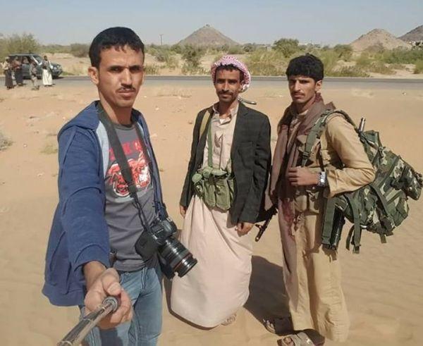 """إدانات واسعة لإستهداف المليشيا الحوثية للصحفي القادري وزملاؤه بـ""""البيضاء"""""""