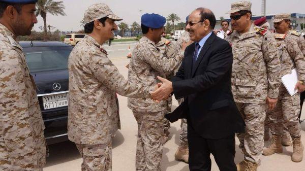 نائب الرئيس يصل مدينة الظهران السعودية لحضور تمرين درع الخليج المشترك1