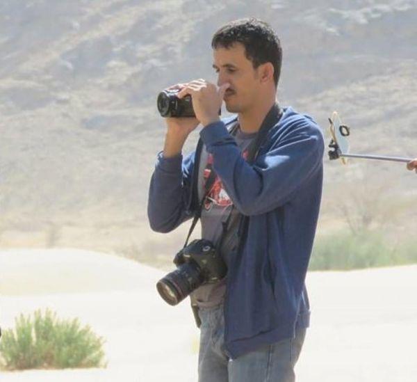 """الصحفي القادري في وصيةٍ مؤثرة """"منذ بداية الحرب وأنا أبحث عن الشهادة """"(صورة)"""
