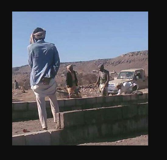 جماعة الحوثي تواصل البسط على أراضي أمانة العاصمة صنعاء