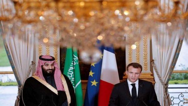 """""""ماكرون"""" و""""بن سلمان"""" يتفقان على موعد عقد مؤتمر بخصوص اليمن في باريس"""