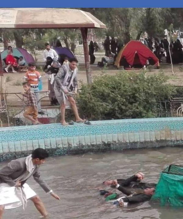 وفاة ثلاثة أطفال بحادثة غرق في نافورة حديقة السبعين بصنعاء