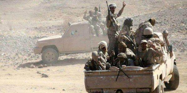 الجيش الوطني يحرر مرتفعات استراتيجية بمنطقة البرح غربي تعز