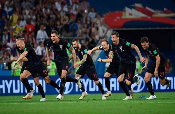 كرواتيا لأول مرة في نهائي المونديال بعد عجز إنجلترا عن إيقاف زحفهم