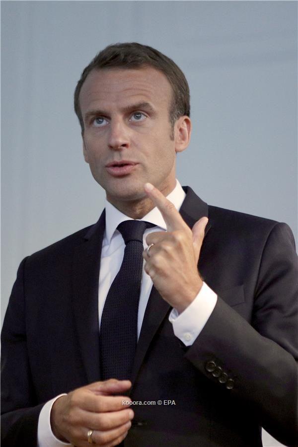 الرئيس الفرنسي يحضر مباراة بلاده مع بلجيكا في نصف نهائي المونديال غدا الثلاثاء