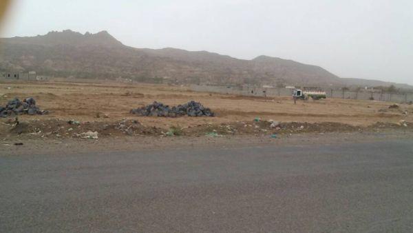 مليشيا الحوثي تنهب أراضي مواطنين في صنعاء وتبدأ عمليات البناء فيها