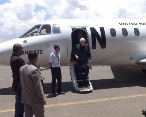 المبعوث الأممي يصل صنعاء غدا الأحد للقاء وفد الحوثيين