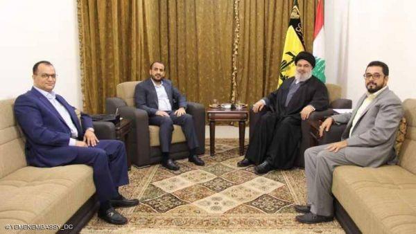 ناطق الحوثي في الضاحية الجنوبية بلبنان.. وإصرار على التصدي لمشاريع إيران التخريبية