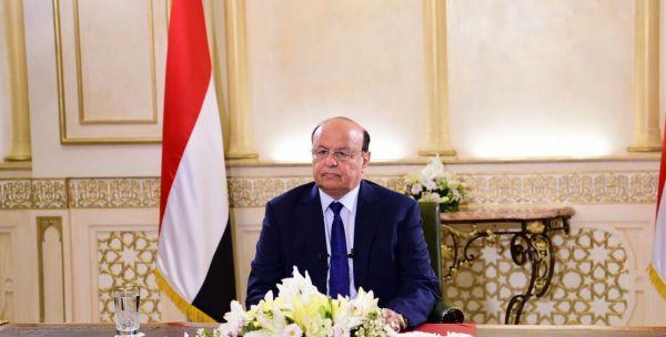 الرئيس هادي: المعركة على الانقلاب شارفت على النصر وستكون فاتحة لعهد جديد